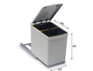 Posuda za odvojeni otpad ALVEUS Albio 10