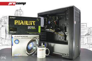GAMING RAČUNAR CYCLOPS i5 4570 GTX 1050 Ti RAM 16GB