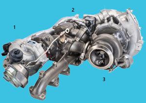 Turbina BMW X6 M50d (E71, F16) 280kw 2011-