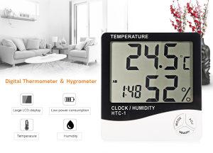 Digitalni sat / temperatura / vlaga / Bespl.dost