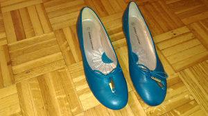 Tirkizne (zeleno-plave) baletanke br. 37