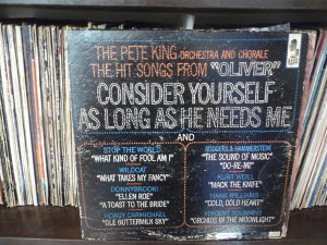 The Pete King  The Hit Songs From Oliver