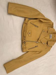 Kozna jakna bershka s 26 zuta