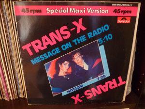 Trans X Message On The Radio