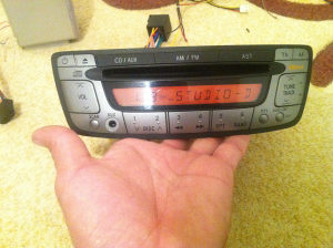 Radio cd citroen c1