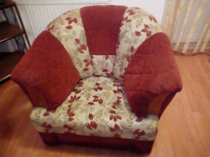 Garnitura trosjed, dvosjed, fotelja