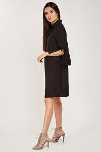Crna haljina viskozna