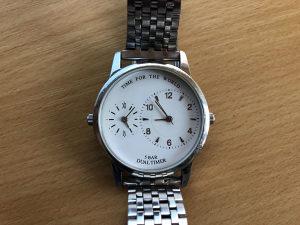 TCM dual time muški sat