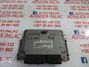 KOMPJUTER MOTORA Citroen JUMPER 9658309980 0281012597 KM476
