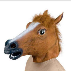 Halloween maska KONJ maska za zabave konj party