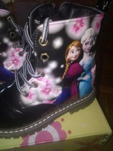 Cipele duboke za djevojcicu- cizme