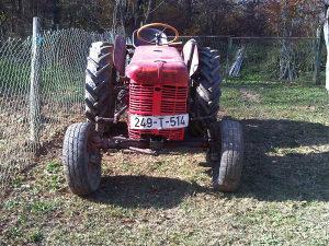Traktor harvester