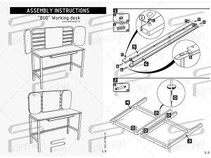 Uputstvo za montažu- Crtanje