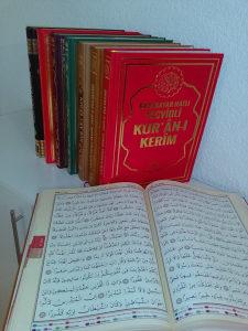 Kur'an Kur'ani Turska štampa,sa tedžvidom,sa prijevodom