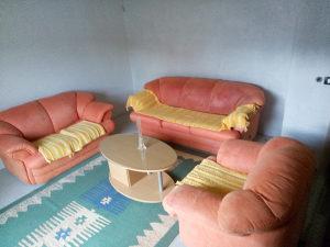 Garnitura trosjed dvosjed fotelja