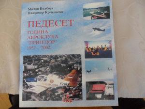 """50 godina aerokluba """"Prijedor"""" 1952-2002."""
