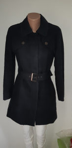 Mantil ženski m,TED BAKER,crni,deblji,moze ko jakna