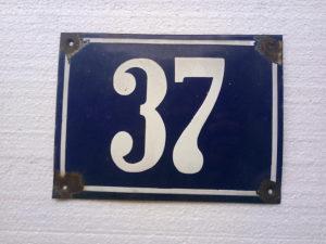 """KUĆNI BROJ """"37"""""""