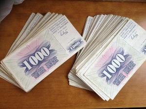 Novčanice BOSNE I HERCEGOVINE-- 200 NOVČANICA