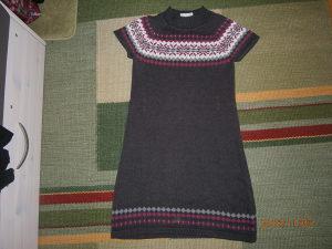 Krasna zimska haljinica,broj 152....Kao nova!