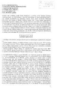 Prodaja stambeno poslovne imovine u Bihacu