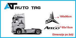 Stikeri i auto naljepnice za kamion MERCEDES ATEGO!