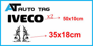 Stikeri i auto naljepnice/naljepnica za kamion IVECO!