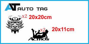 Stikeri i auto naljepnice/naljepnica za kamion ACTROS!