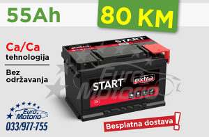 Akumulator 55Ah - 80 KM sa dostavom!
