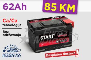 Akumulator 62Ah - 85 KM sa dostavom!