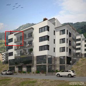 Novogradnja HILLSIDE RESIDENCE, trosoban stan 76,36 m2