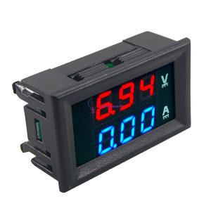 DC 100V 10A LED Digital Volt /Ampermetatar