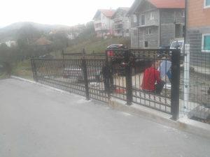 Kovane ograde i kapije