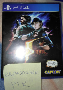 Resident Evil 5 plus svi DLC-ovi za PS4 Playstation 4