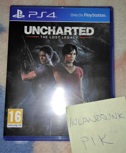 Uncharted the Lost Legacy za PS4 Playstation 4