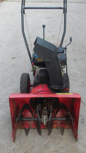 Freza razgrtac  motokultivator za snijeg