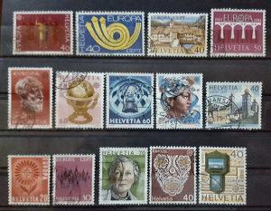 ŠVICARSKA 1972/92 - Poštanske marke - 01457
