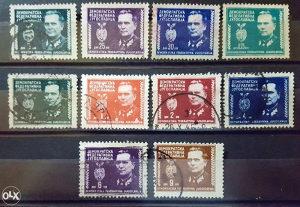 JUGOSLAVIJA 1945 - Poštanske marke - 01458