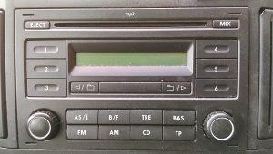 VW POLO 9N3 RCD 200 RADIO