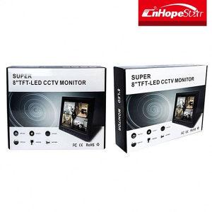 "Super 8"" TFT-Led CCTV Monitor"