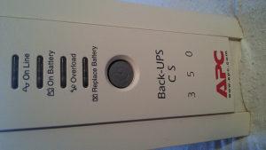 Back - UPS CS - 350 - APC