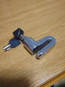 Katanac za disk motor ili biciklo org. 30KM