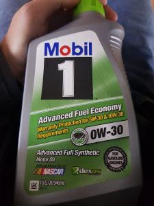 Mobil ulje 0W-30, 5W-30, 0W-40, 10W-30