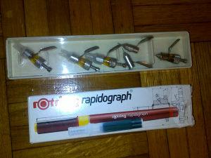 rapidografi za crtanje