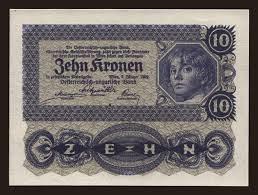 10 kronen 1922