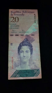 20 Bolivares - 2009.god. - Venecuela