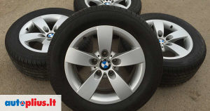 """BMW E60 E61 Felge 16"""" sa gumama ZIMSKIM style 242"""