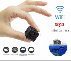 Spijunska SQ13 WIFI Vodootporna FULL HD Mini Kamera