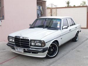 Mercedes 123  Spojler Branika