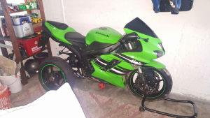 Kawasaki zx6r 2007 komplet ili u djelova